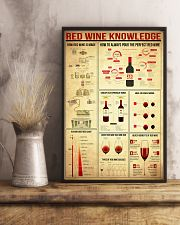 Red Wine Knowledge 11x17 Poster lifestyle-poster-3