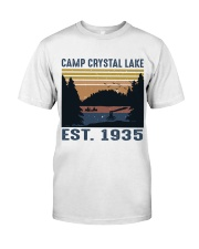 Camp Crystal Lake Classic T-Shirt front