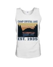Camp Crystal Lake Unisex Tank thumbnail