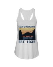 Camp Crystal Lake Ladies Flowy Tank thumbnail