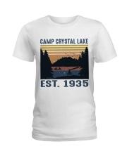 Camp Crystal Lake Ladies T-Shirt thumbnail
