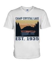 Camp Crystal Lake V-Neck T-Shirt thumbnail