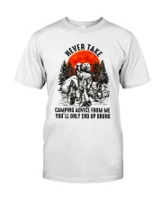 Camping Advice From Me Classic T-Shirt thumbnail