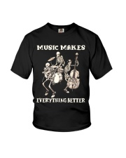 Music Makes Everything Better Youth T-Shirt thumbnail