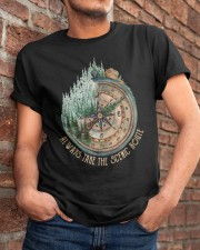 Always Take The Scenic Route Classic T-Shirt apparel-classic-tshirt-lifestyle-26