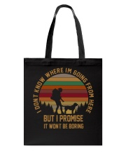 I Wont Be Boring Tote Bag thumbnail