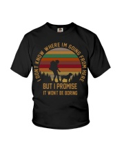 I Wont Be Boring Youth T-Shirt thumbnail