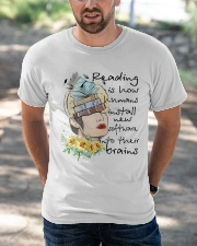 Love Reading Classic T-Shirt apparel-classic-tshirt-lifestyle-front-50