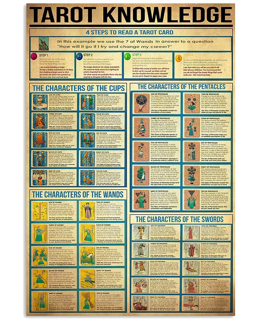 Tarot Knowledge 11x17 Poster