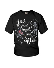 And They Lived Happily Youth T-Shirt thumbnail