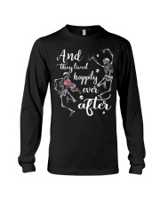 And They Lived Happily Long Sleeve Tee thumbnail