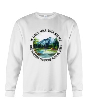In Every Walk With Nature Crewneck Sweatshirt thumbnail