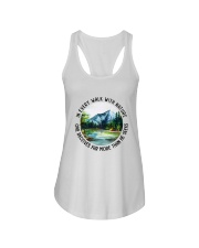 In Every Walk With Nature Ladies Flowy Tank thumbnail
