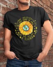 She Become A Teacher Classic T-Shirt apparel-classic-tshirt-lifestyle-26