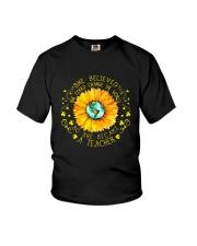 She Become A Teacher Youth T-Shirt thumbnail