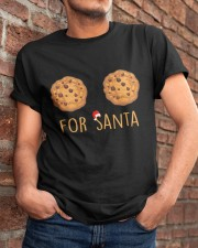 For Santa Classic T-Shirt apparel-classic-tshirt-lifestyle-26