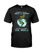 Powerful Weapon Classic T-Shirt front