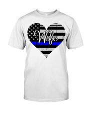 Wife Police Classic T-Shirt front
