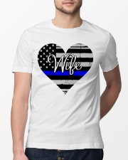 Wife Police Classic T-Shirt lifestyle-mens-crewneck-front-13