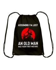 I'm Just An Old Man Drawstring Bag thumbnail