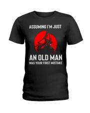 I'm Just An Old Man Ladies T-Shirt thumbnail