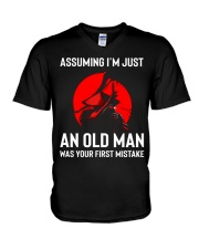 I'm Just An Old Man V-Neck T-Shirt thumbnail