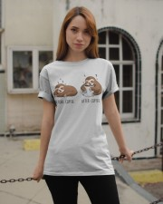 Before And After Coffee Classic T-Shirt apparel-classic-tshirt-lifestyle-19