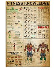 Fitness Knowledge 11x17 Poster front