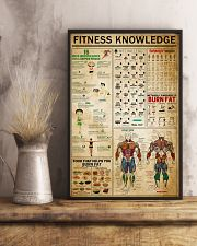 Fitness Knowledge 11x17 Poster lifestyle-poster-3