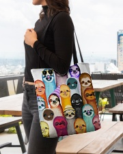 Love Sloth All-over Tote aos-all-over-tote-lifestyle-front-04