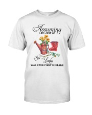 I Am Just An Old Lady Premium Fit Mens Tee thumbnail