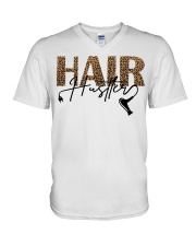 Hair Hustler V-Neck T-Shirt thumbnail