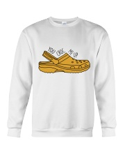 You Croc Me Up Crewneck Sweatshirt thumbnail