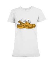 You Croc Me Up Premium Fit Ladies Tee thumbnail