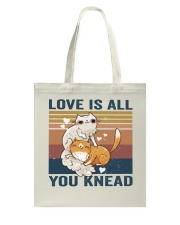 Love Is All You Knead Tote Bag thumbnail