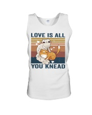 Love Is All You Knead Unisex Tank thumbnail