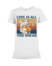 Love Is All You Knead Premium Fit Ladies Tee thumbnail