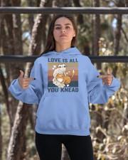 Love Is All You Knead Hooded Sweatshirt apparel-hooded-sweatshirt-lifestyle-05