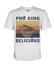 Pho King Delicious V-Neck T-Shirt thumbnail