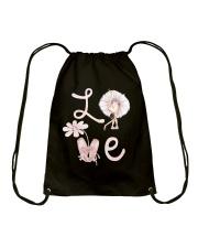 Love Ballet Drawstring Bag thumbnail
