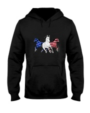 Horse American Hooded Sweatshirt thumbnail