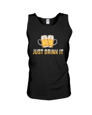 Just Drink It Unisex Tank thumbnail