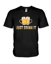 Just Drink It V-Neck T-Shirt thumbnail