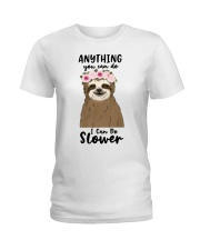 Anything You Can Do Ladies T-Shirt thumbnail