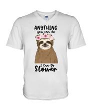 Anything You Can Do V-Neck T-Shirt thumbnail
