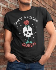 She Is A Killer Queen Classic T-Shirt apparel-classic-tshirt-lifestyle-26