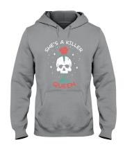 She Is A Killer Queen Hooded Sweatshirt thumbnail