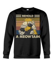 Behold A Meowtain Crewneck Sweatshirt thumbnail