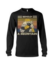 Behold A Meowtain Long Sleeve Tee thumbnail
