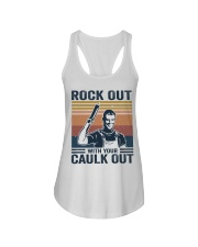 Rock Out With Our Caulk Out Ladies Flowy Tank thumbnail
